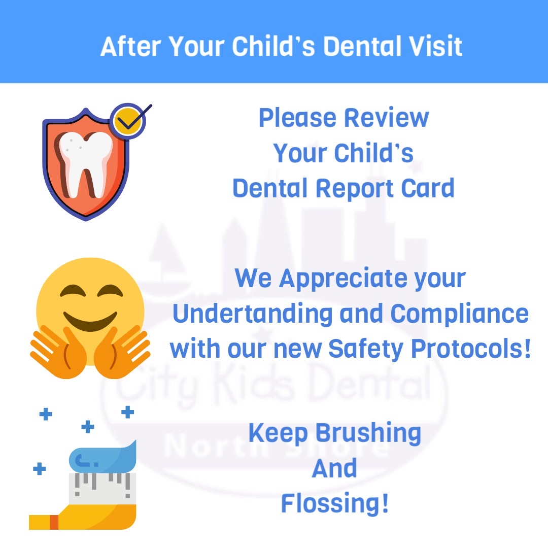 after your child's dental visit